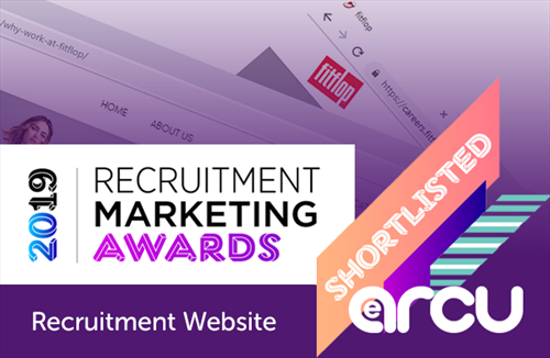 FitFlop shortlisted for Recruitment Website Award