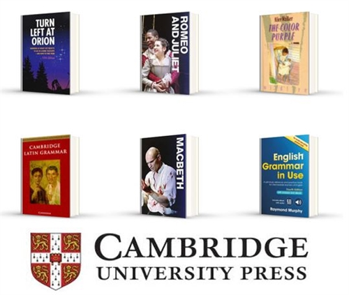New project underway with Cambridge University Press